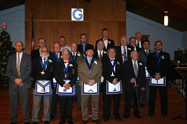 Lodge Installation, December 8, 2007