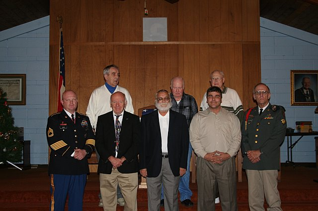 Veterans Night, November 27, 2007